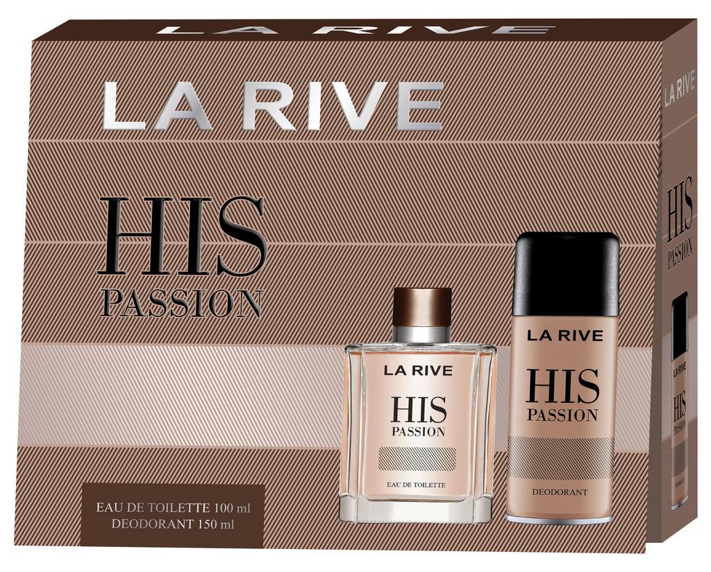 Darilni set La Rive, moški, His passion
