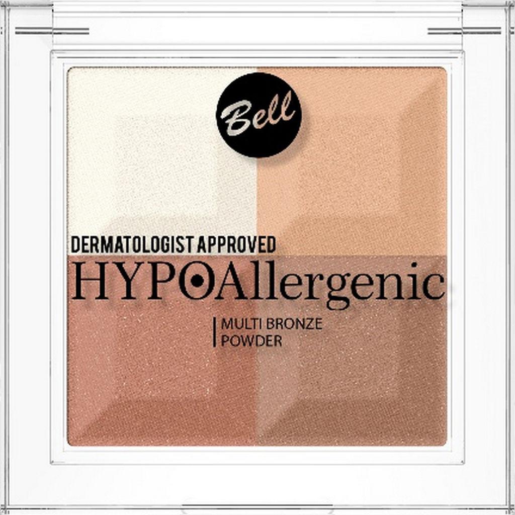 Puder Bell, hipoalergenski porjavitveni MULTI BRONZE 01