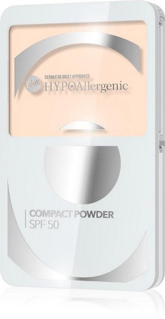 Puder Bell, hipoalergenski kompaktni SPF 50 št.2