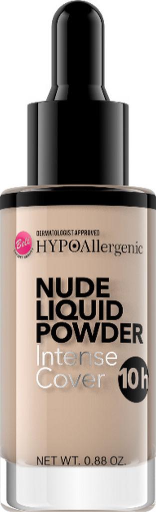 Puder tekoči Bell Hipoalergenski tekoči puder Nude 04