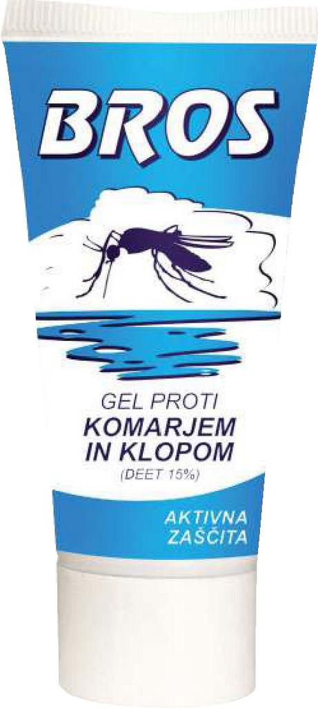 Pršilo proti komarjem in klopom Bros, 90ml