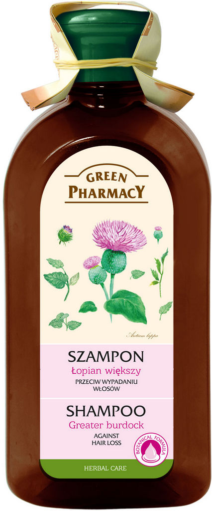 Šampon za lase Green Pharmacy, Repinec, 350 ml
