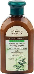 Balzam za lase Green Pharmacy za poškodovane in krhke lase kopriva, 300ml