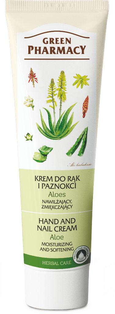 Krema za roke Green Pharmacy, Aloe vera, 100 ml