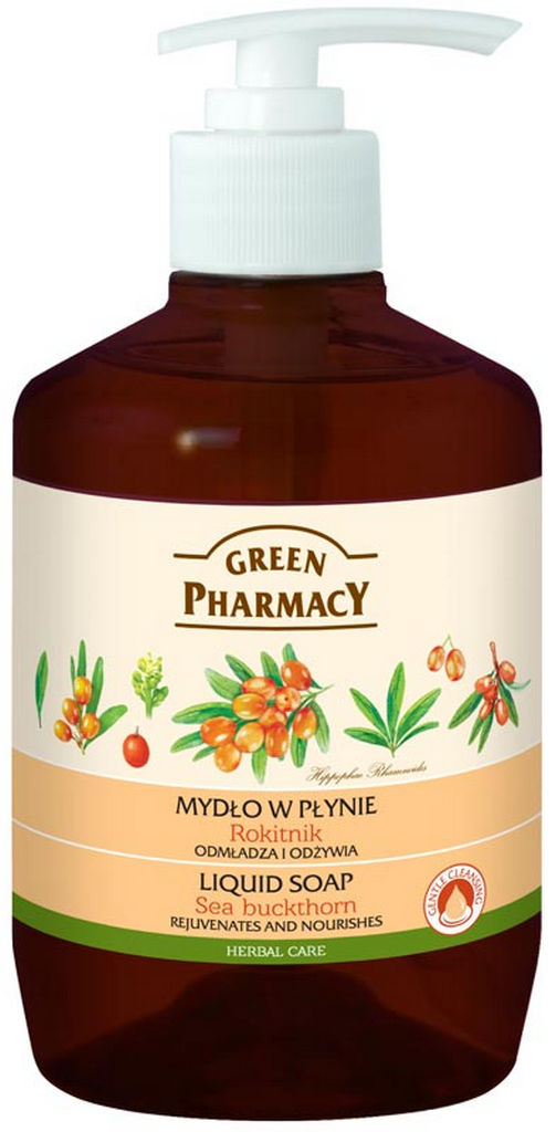 Milo tekoče Green Pharmacy, rakitovec, 465 ml