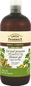 Tuš gel Green Pharmacy, argan in fige, 500 ml