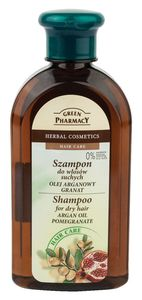 Šampon za lase Green Pharmacy, argan, suhi lasje, 350ml