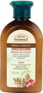 Balzam za lase Green Pharmacy z arganom in granatnim jabolkom, 300ml