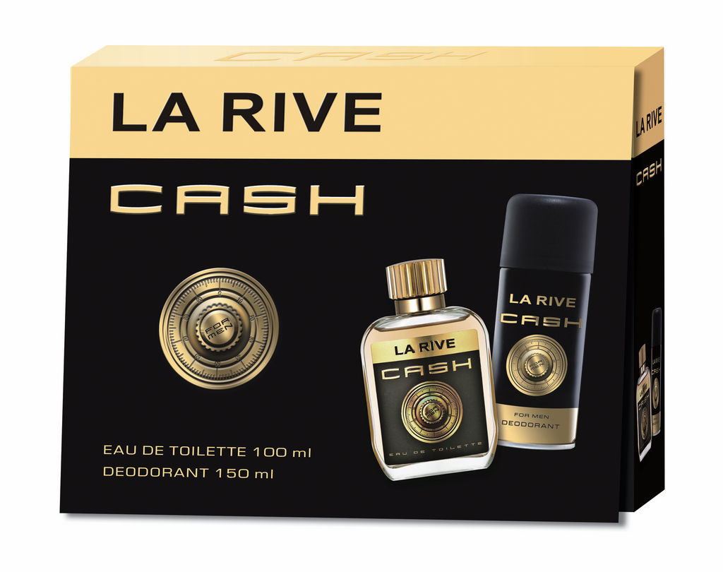 Darilni set La Rive, man, Cash
