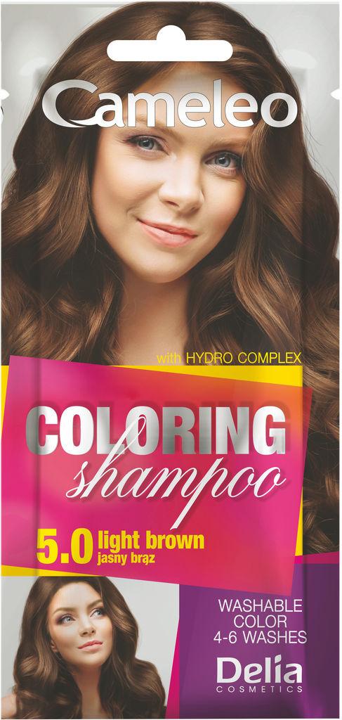 Šampon Cameleo, barvni, light brown 5.0