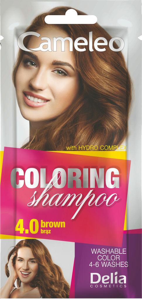 Šampon Cameleo, barvni, brown 4.0