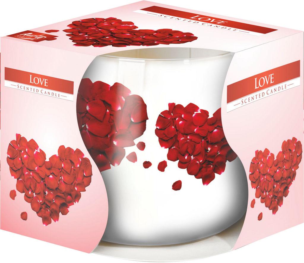 Sveča Love, diš.v steklu, gori cca.20ur
