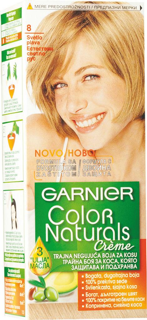 Barva za lase Garnier Color Naturals 8