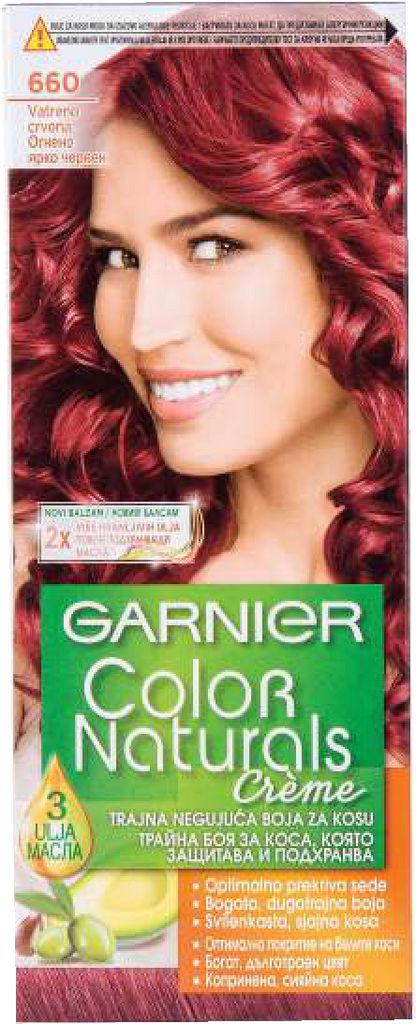 Barva za lase Garnier, Naturals 660