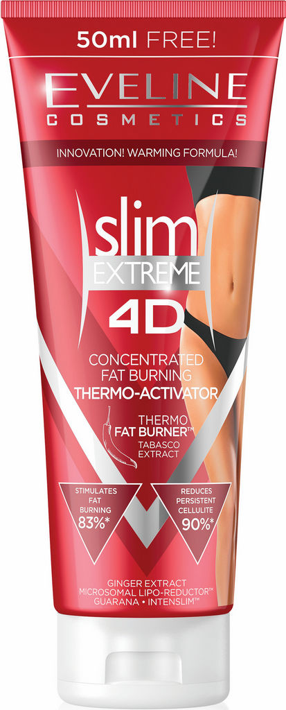 Serum Eveline, Slim extreme 3D Anti – cellulite, 250 ml