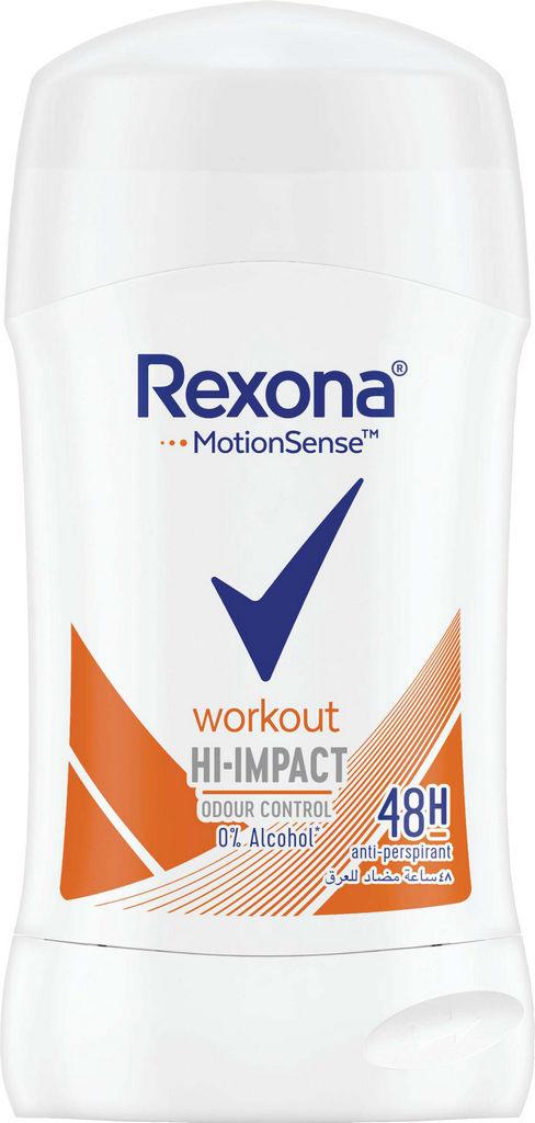 Deozodorant stick Rexona Workout Hi-Impact, 40ml
