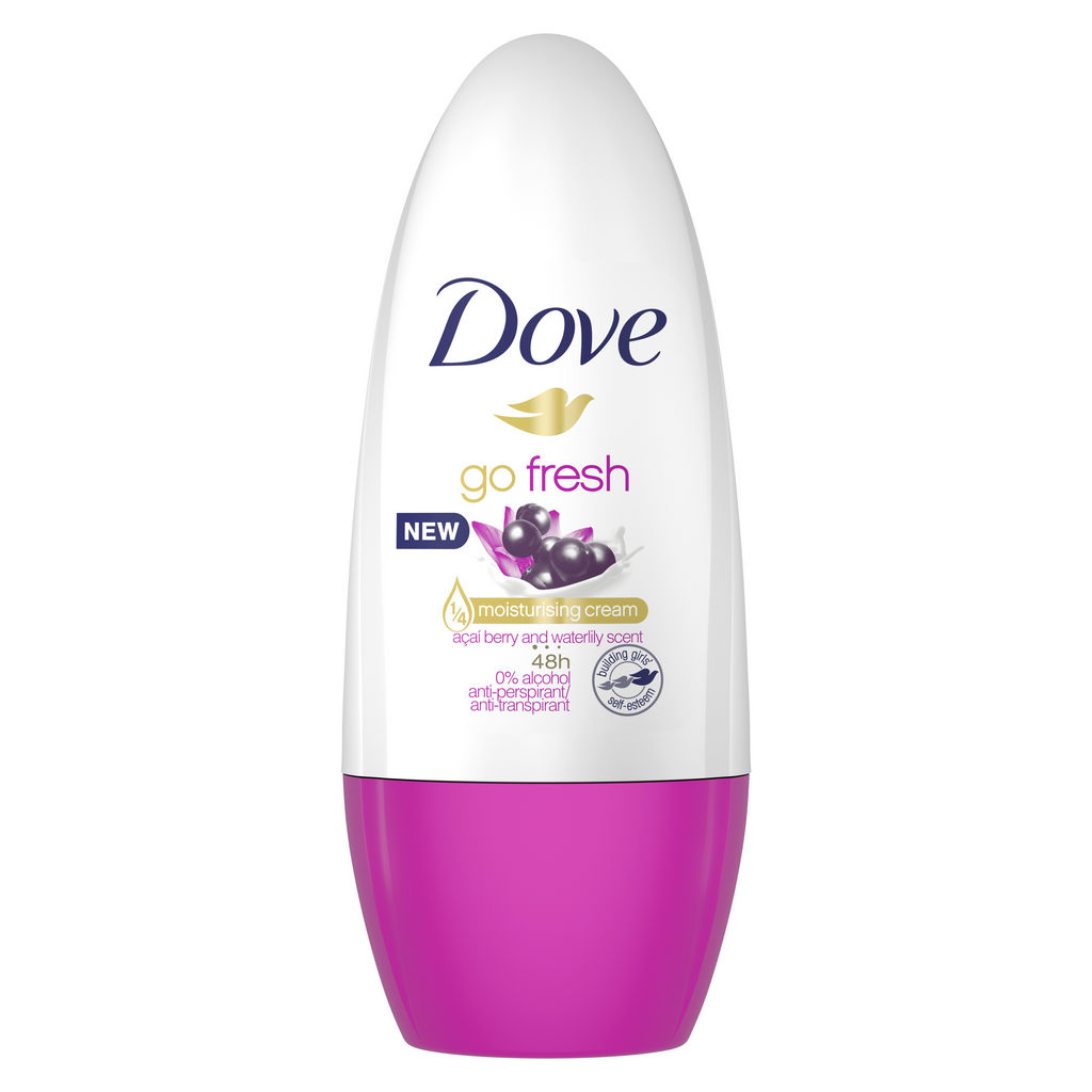 Dezodorant roll-on Dove, acai&water Lilly, 50ml