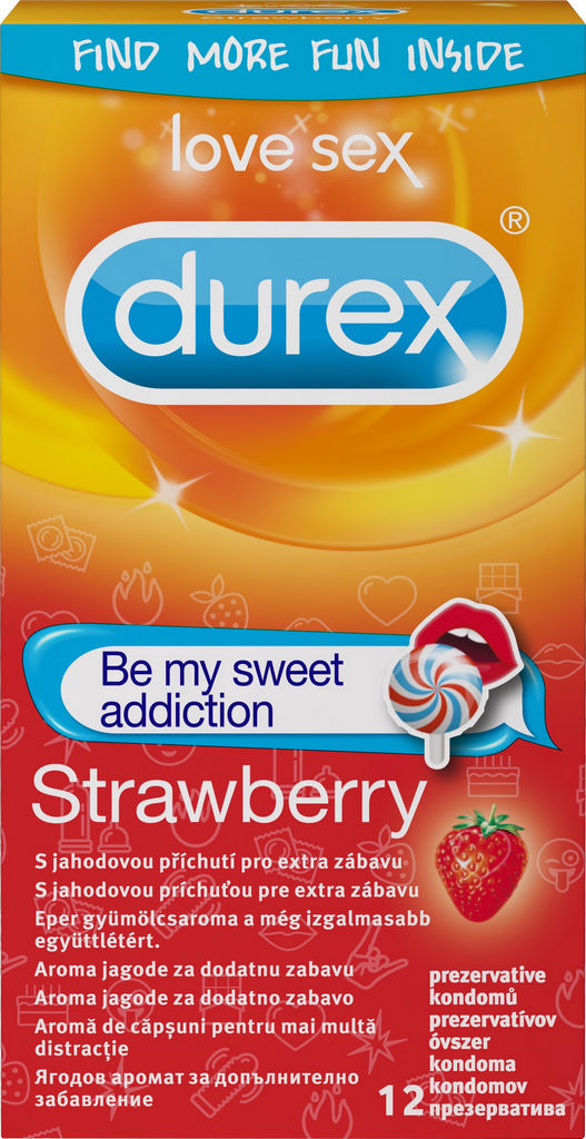 Kondomi Durex, Strawberry emoji