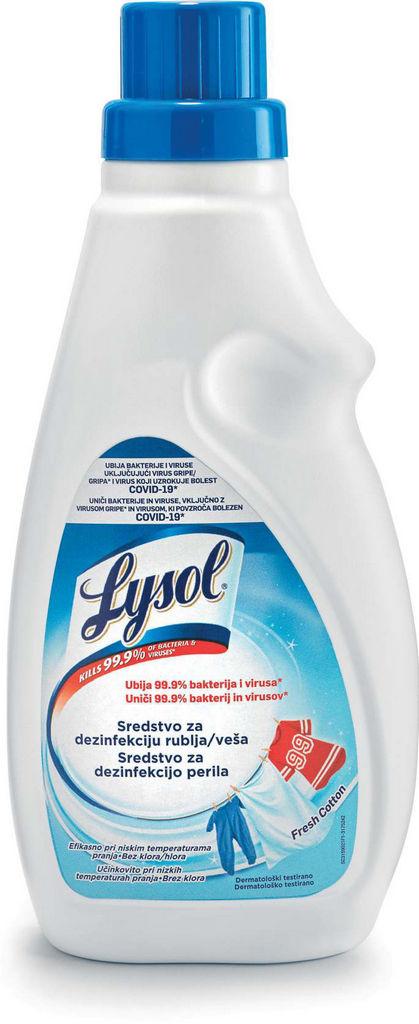 Dezinfekcijsko sredstvo za perilo Lysol, 720 ml