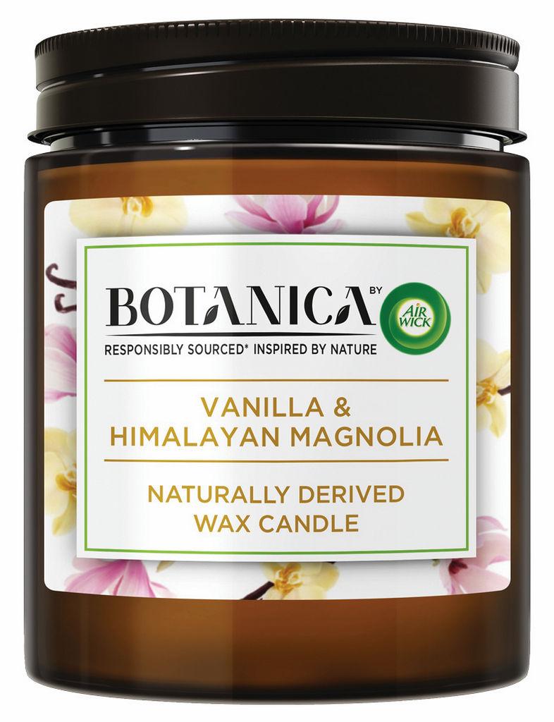Sveča Botanica, vanilla
