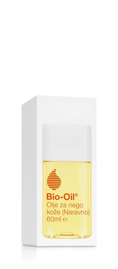 Olje za nego kože Bio-Oil Naravno, 60 ml