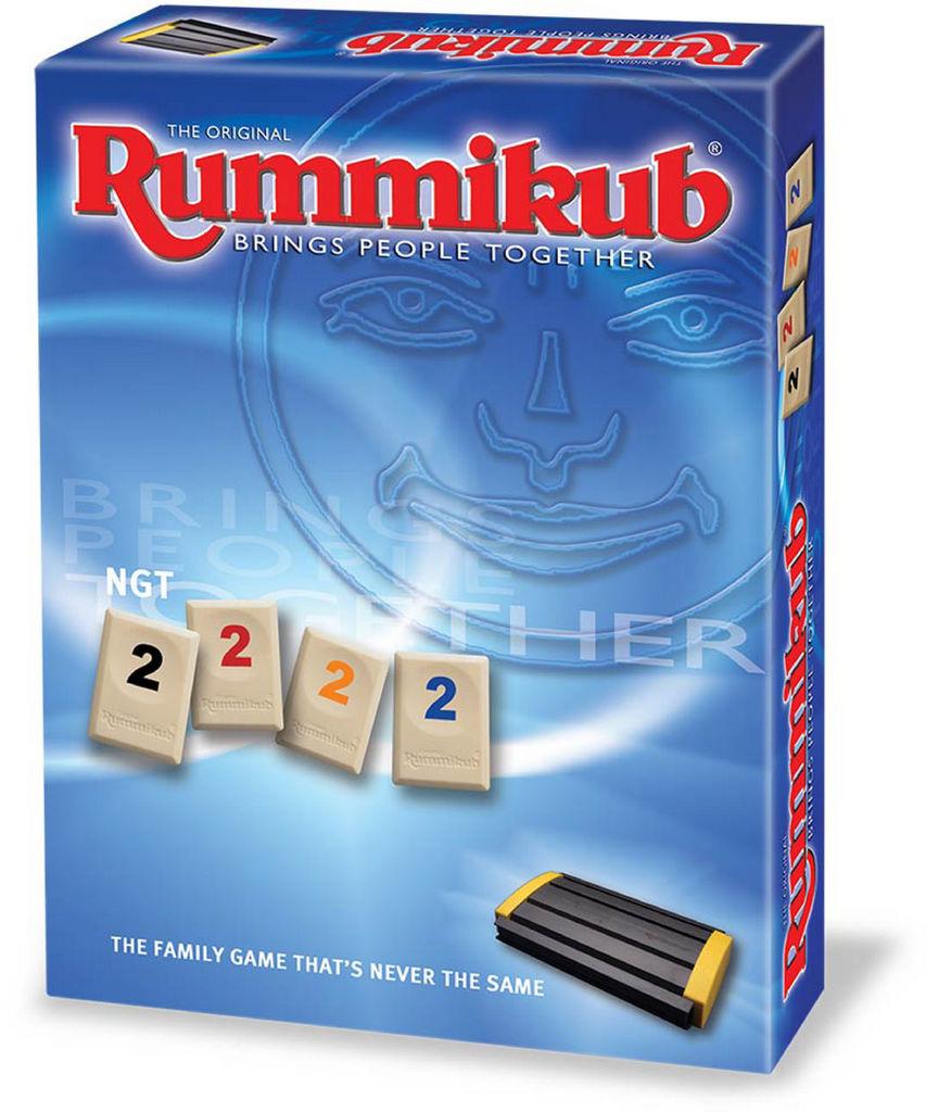 Igra Rummikub, družabna, potovalna