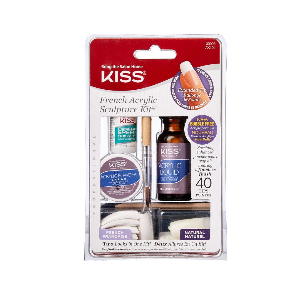 Set za nohte Kiss – Acrylic AK104