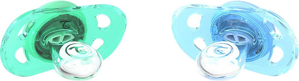 Dude Twistshake, modra in zelena, 0-6 mesecev