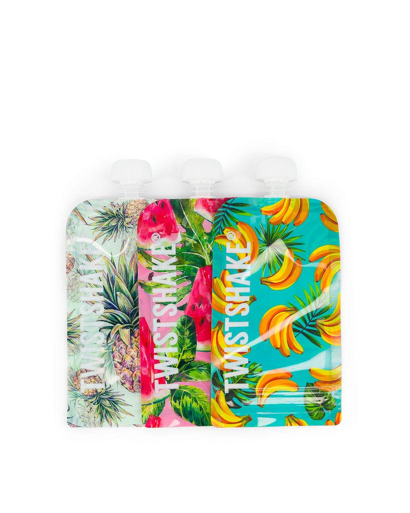 Vrečke za shranjevanje Twistshake Squeeze, 220ml x 3