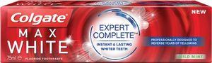 Zobna pasta Colgate, Max white – Expert complete, 75 ml