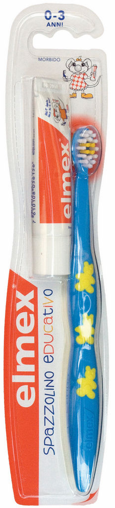 Zobna ščetka Elmex, otroška, 0-3leta