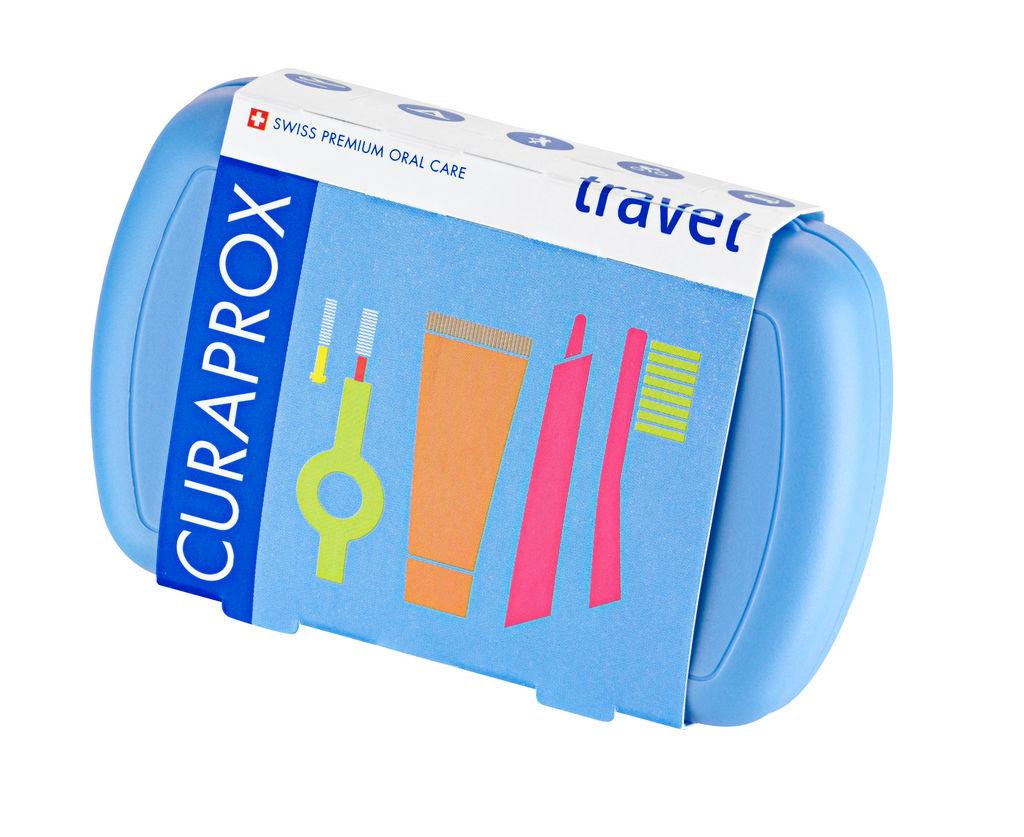 Set Curaprox, potovalni, zobna ščetka CS 5460, zobna pasta BE YOU 10 ml, medzobna ščetka CPS 07, 09