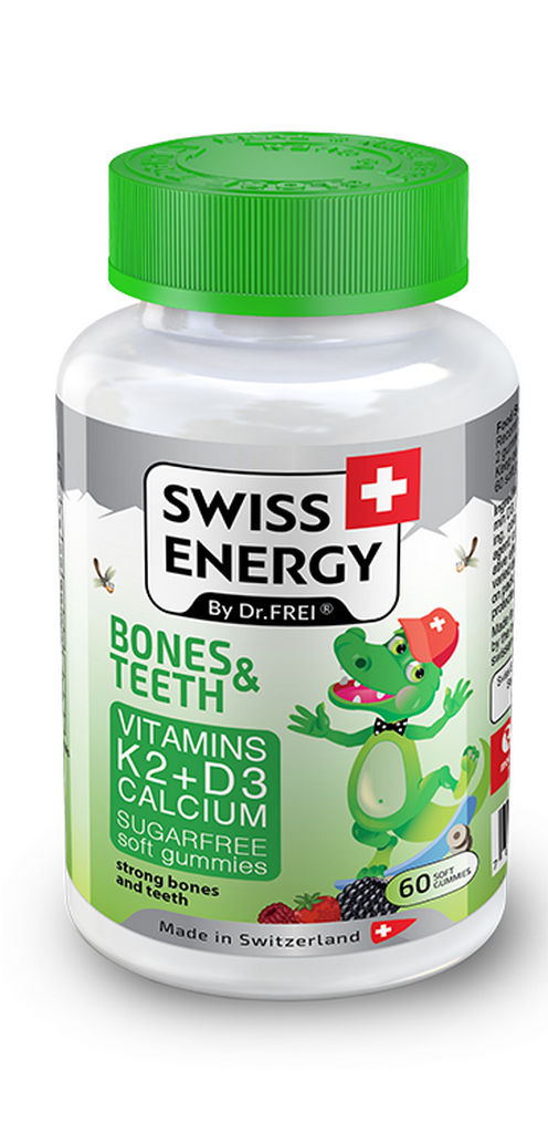Bonboni Swiss energy immunity boost vitamini in minerali, 120g