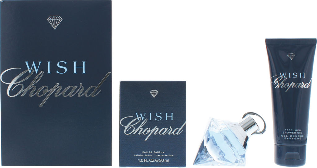 Darilni set Chopard, Wish edp 30ml, tuš gel 75ml