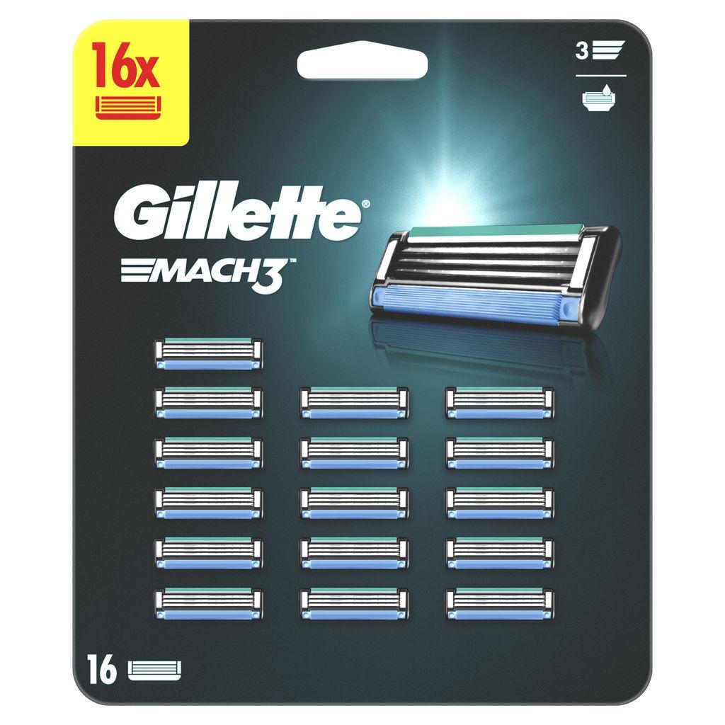 Vložki Gillette Mach 3, 16/1