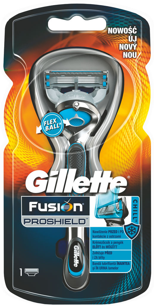 Brivnik Gillette Fushion Proshield M.Chill+1nast.