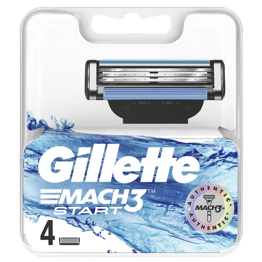 Nastavki Mach3, Gillette Start, 4/1