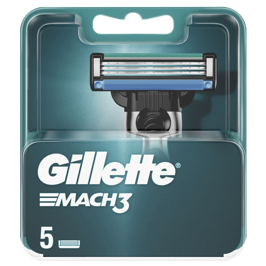 Nastavki za brivnik Gillette Mach3, 5/1