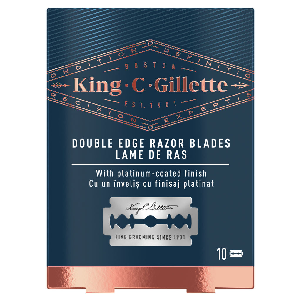 Nastavki za brivnik Gillette King C double, 10/1