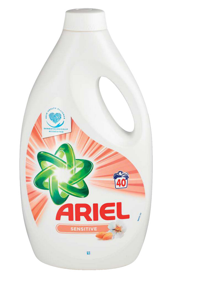 Pralni prašek Ariel Sensitive, 40 pranj, 2,2l