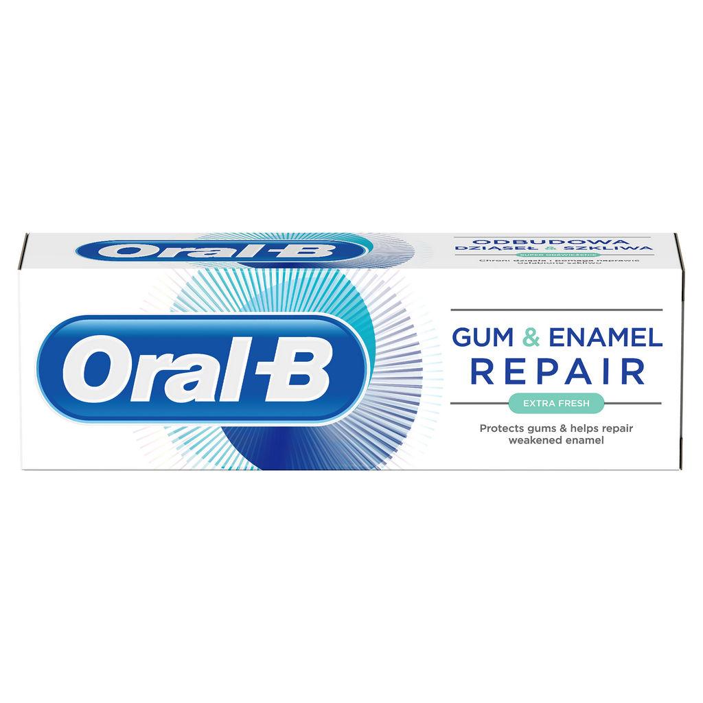 Zobna pasta Oral – B, Gum & Enamel extra fresh, 75ml