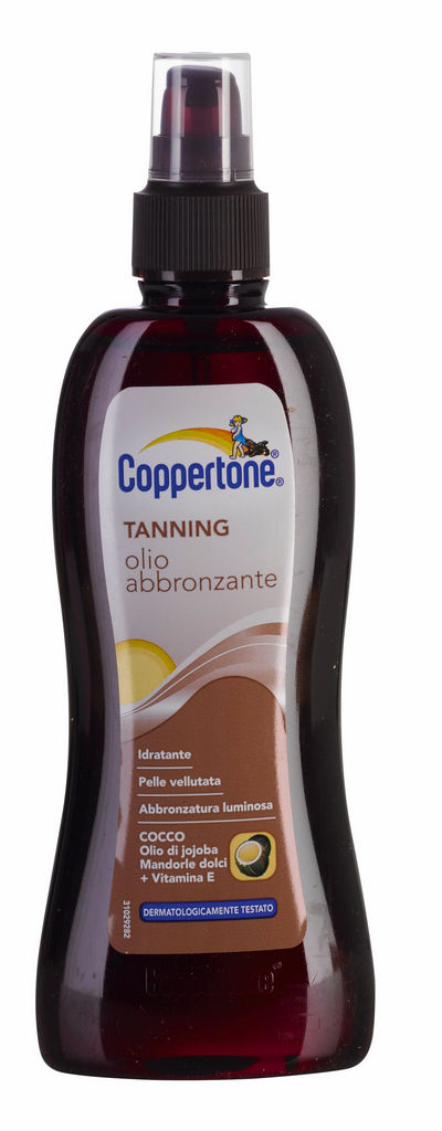 Olje Coppertone, Kokos SPF 20, 200 ml
