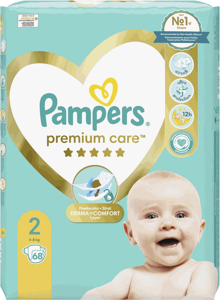 Pampers Premium, mini 4-8kg, 68/1