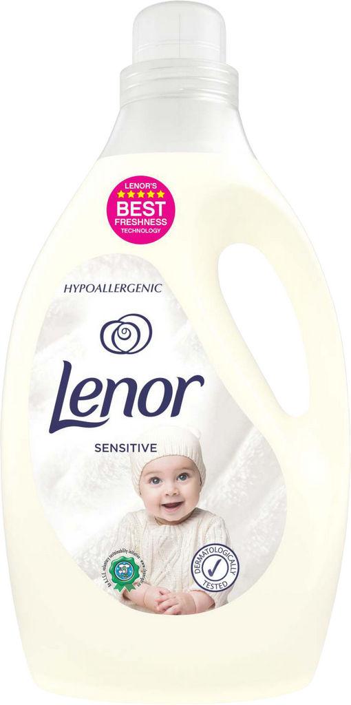 Mehčalec Lenor, Sensitive bulk, 2.905l