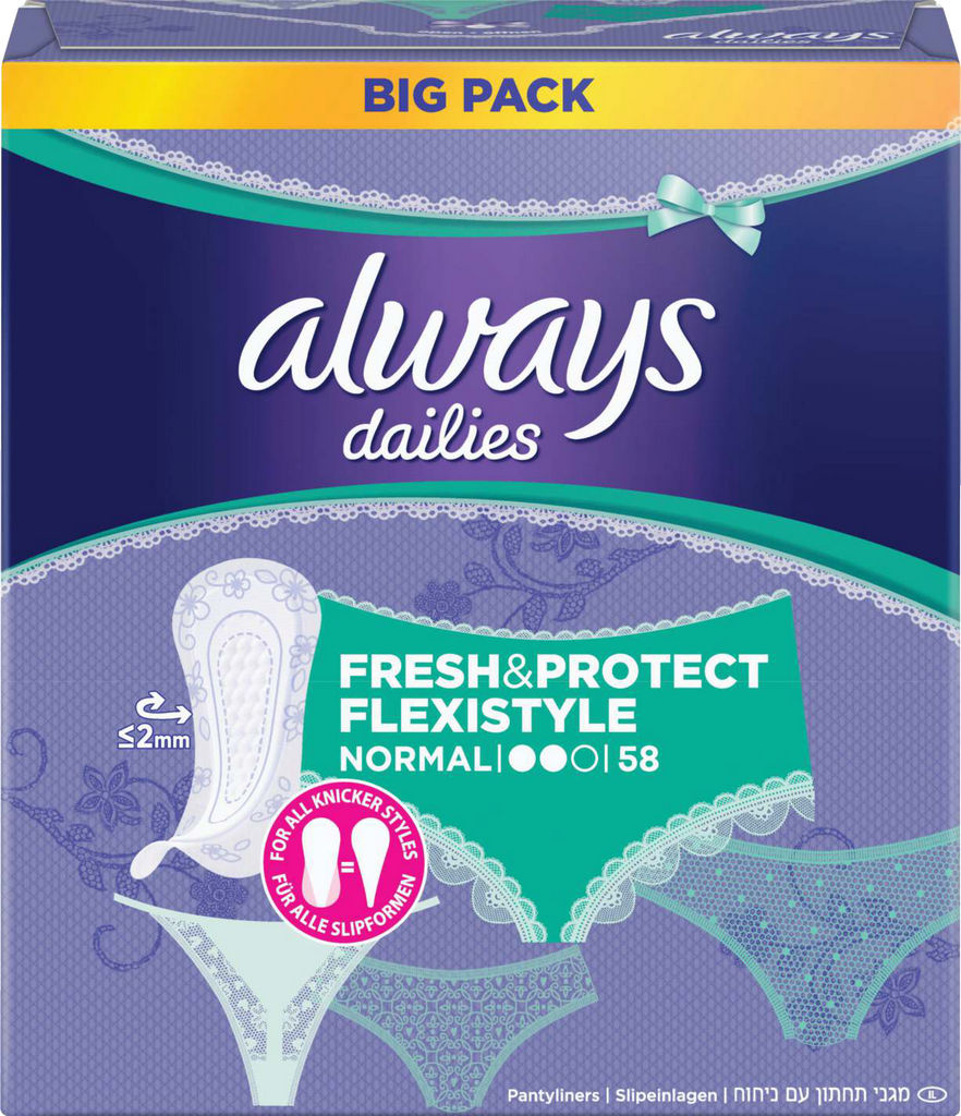 Always fresh&protect, flexistyle, 58/1