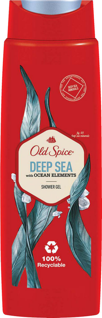 Tuš gel Old spice, Deep sea, 250ml