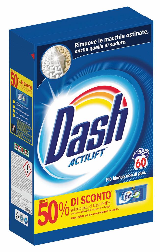 Pralni prašek Dash, Regular, 60pranj, 3,9kg