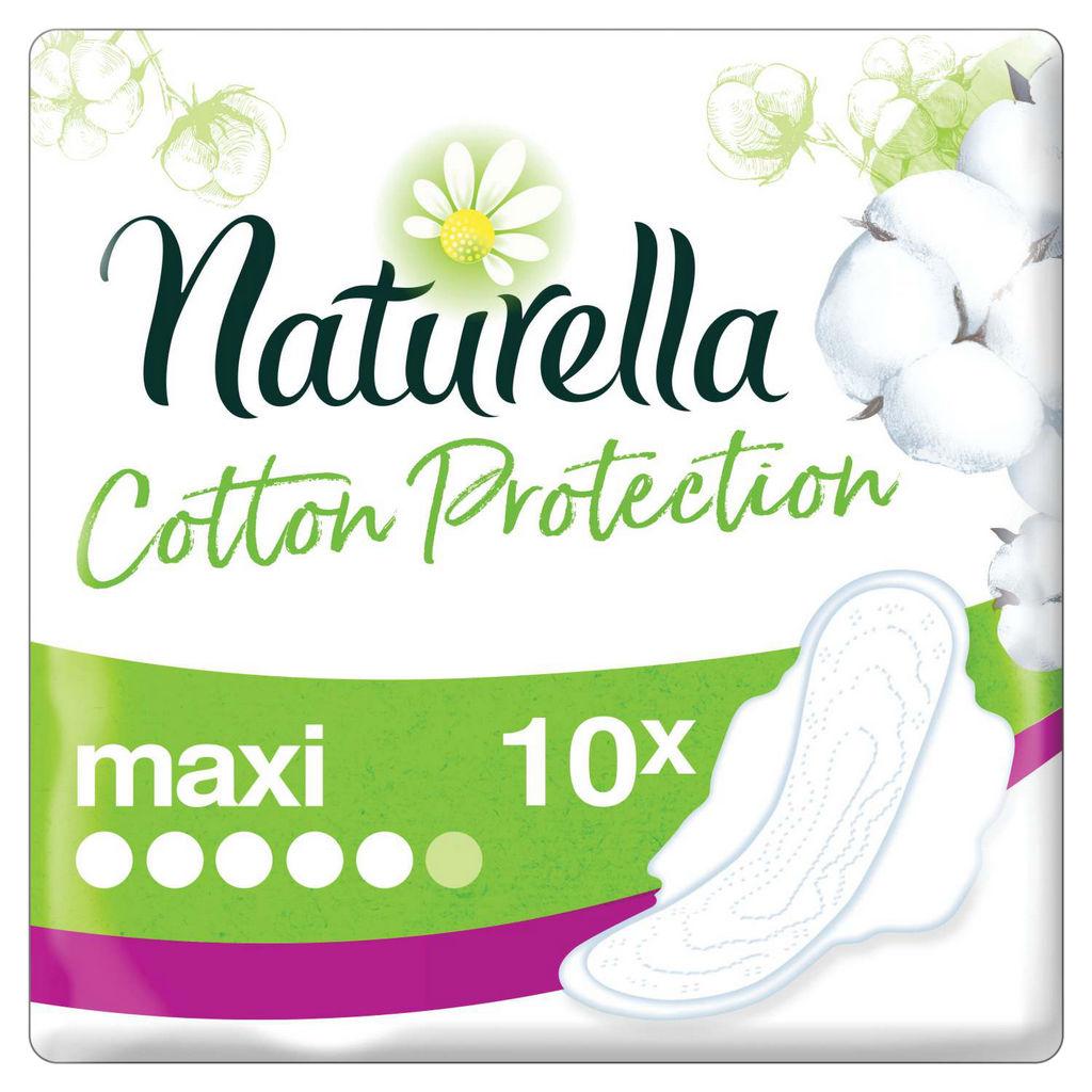Higienski vložki Naturella, Long cotton protection, 10/1
