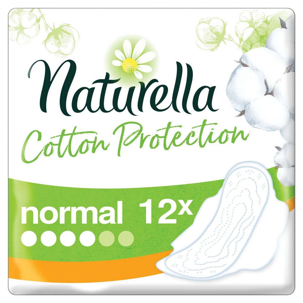 Higienski vložki  Naturella, Normal cotton protection, 12/1