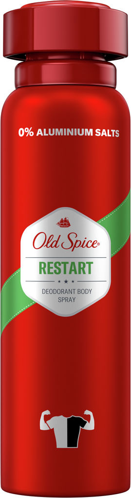 Dezodorant Old spice, sprej, Restart, 150 ml